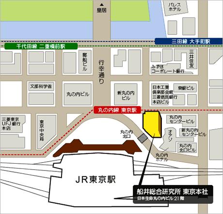 東京本社 地図